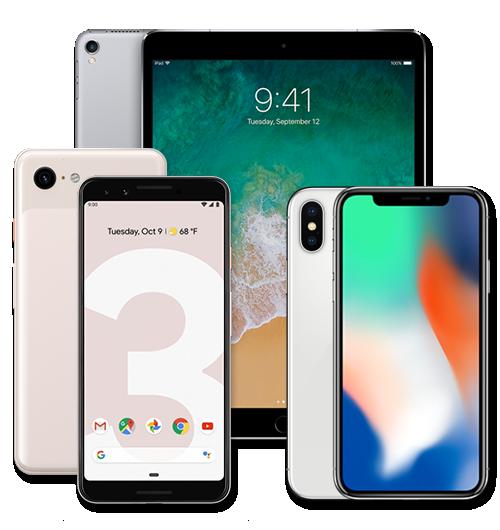 Ipads and smartphones