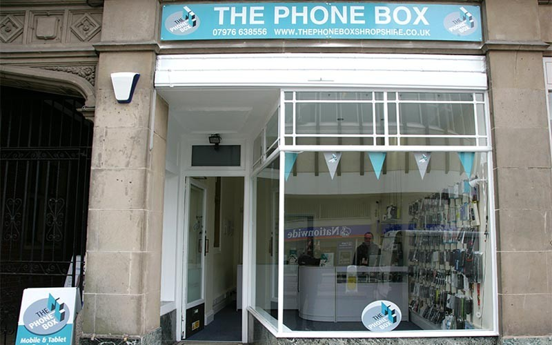 The Phone Box Shrewsbury